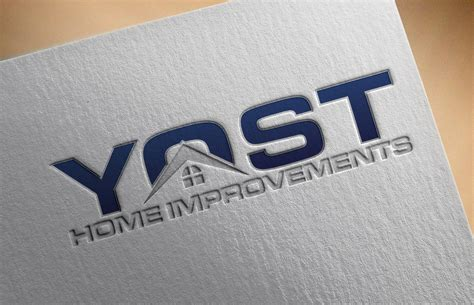 yost home improvements logo design swiftdone