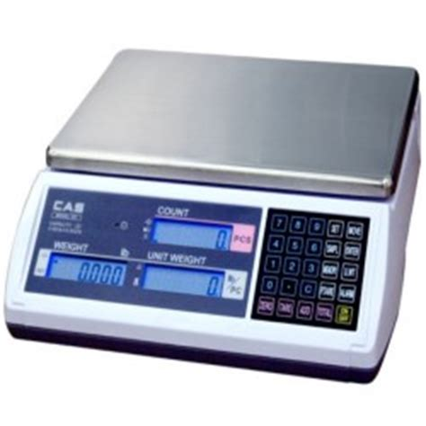cas ac digital counting scale australasia scales cas ec series ac battery counting scale