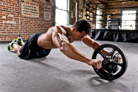 ab try this ab wheel progression to build a rock fitness