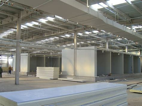 vegetable food processing warehouse cold storage room