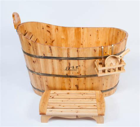 solid wood bathtub modern simple style solid wood surface bathtub