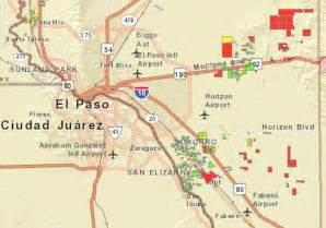 elpaso map contributed by jean zeh ride committee