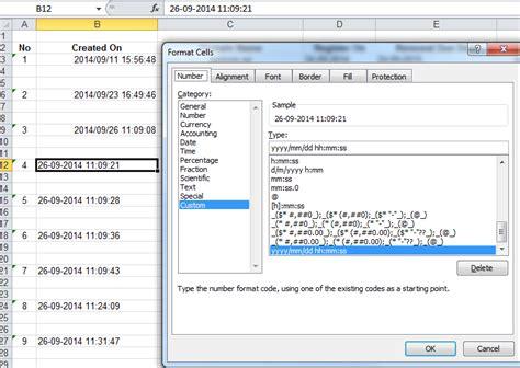 php java date format excel custom date format yyyy mm dd vba excel macro how