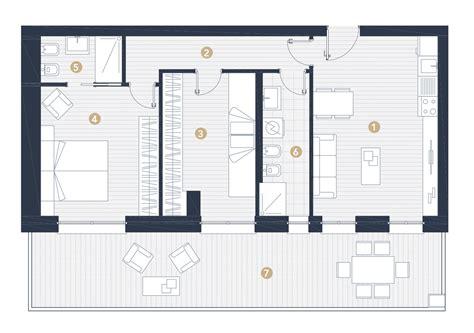progetto appartamento 50 mq casa 50 mq progetto