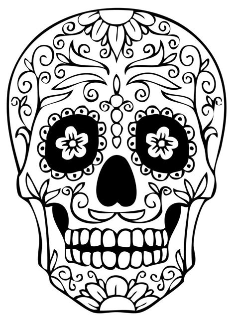skull coloring book skull coloring pages for developing knowledge in human