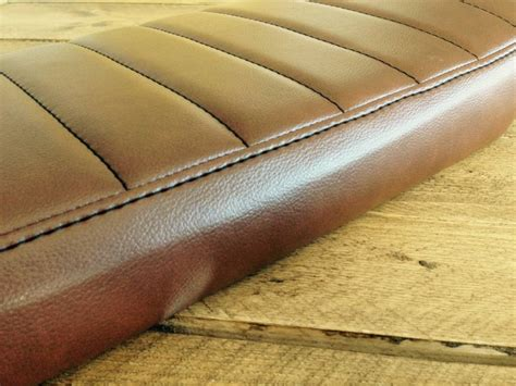 tuck and roll upholstery material brat seat tuck n roll chocolat long type 41