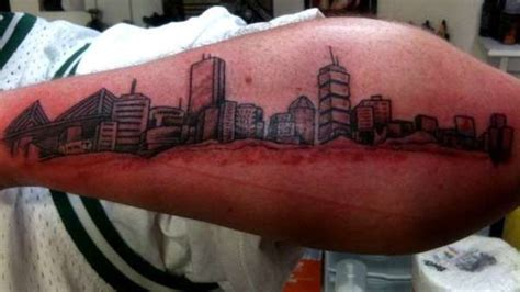 boston skyline tattoo skyline designs ideas and meaning tattoos for you