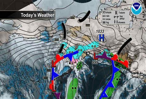 us weather map alaska national maps alaska noaa s national weather service