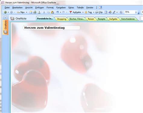 Vorlage Word Hintergrund Valentinstag Herzen Vorlage F 252 R Onenote
