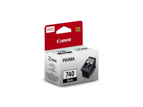 Canon Black Ink Cartridge Pg 740 Canon Black Ink canon pg 740 black ink cartridge all it hypermarket