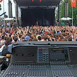 gand concert sound pitches in at music festival prosoundweb