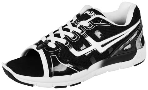 open toe athletic shoes opetoz open toe athletic shoe black white