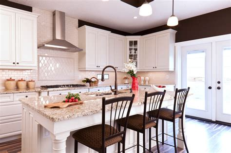 Biscuit Kitchen Faucet kitchen residence camrose i traditional kitchen