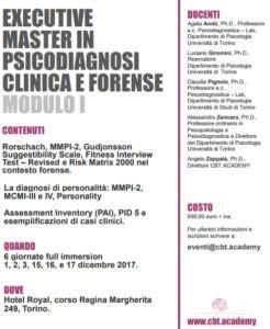 centro clinico crocetta executive master in psicodiagnosi