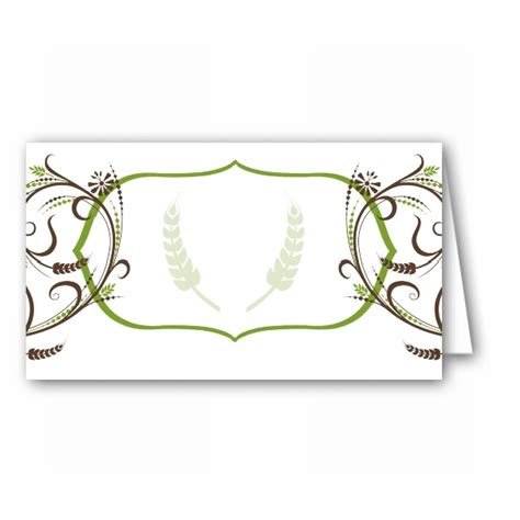 Bliss Gift Card - fern bliss place cards paperstyle