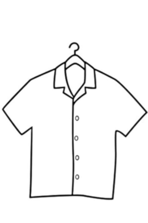camisa y corbata para colorear colorear camisa de mangas cortas colorear dibujos de