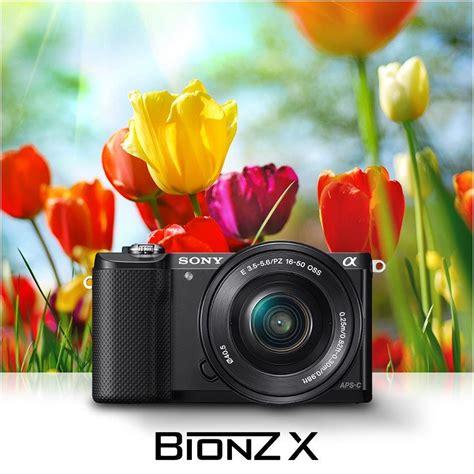 Sony Alpha Ilce A5000 L 1650 Black Kamera sony alpha 5000 systemkamera 3 zoll schwarz inkl