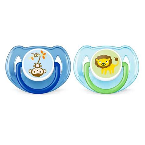 Terlaris Philips Avent Soother 6 18m Time Blue pacifiers accessories