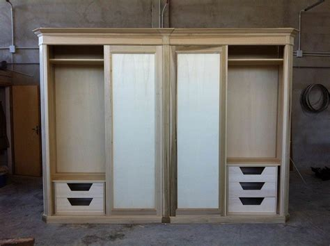 costruire un armadio su misura costruire un armadio armadi in legno per esterno