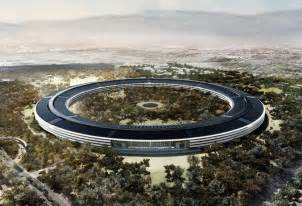 New Apple Headquarters by New 4k Drone Footage Reveals Build Update Of Apple S New