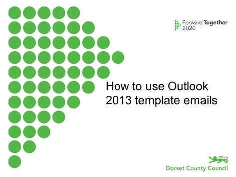 Use Email Template Outlook 2013 by How To Use An Outlook 2013 Template Email