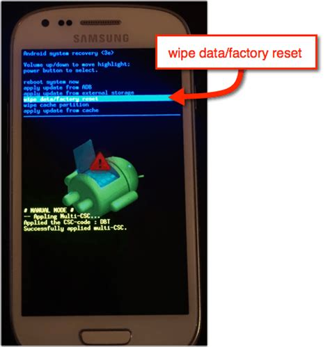 reset android handy samsung galaxy grand prime hard reset factory reset