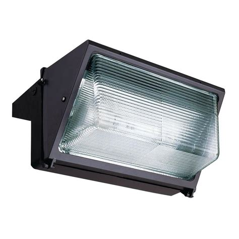 Metal Halide Outdoor Lights Lithonia Lighting Wall Mount Outdoor Bronze 250 Watt Metal Halide Wall Pack Twr2 250m Tb Scwa