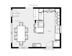 Kitchen Floor Plan Ideas by Kitchen Floor Plans Kitchen Island Design Ideas 3858