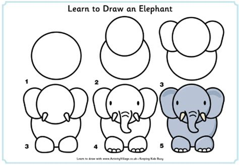 learn to draw learn to draw an elephant this site is great for