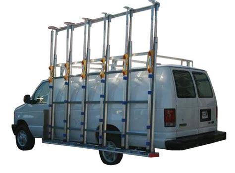 Glazing Racks For Vans by The Glass Racking Company Canada Glass Racks