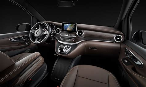 Mercedes Suv Interior Photos by Mercedes V Class Viano Replacement Interior Revealed