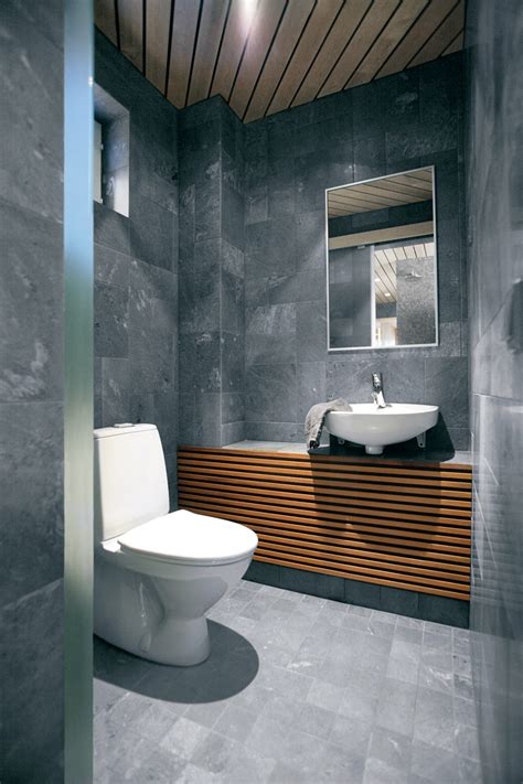 Small Modern Bathroom Design | 32 good ideas and pictures of modern bathroom tiles texture