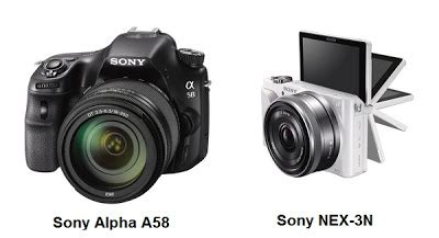 a new innovation on sony alpha a 58   digital camera and