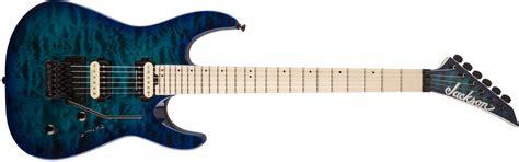 best jackson guitar guitars pro series dinky dk2qm maple fingerboard