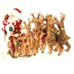 possible dreams santa s sleigh quot 21in figurine 4022801