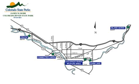 james m robb colorado river state park fruita section co james m robb colorado river state park map fruita co