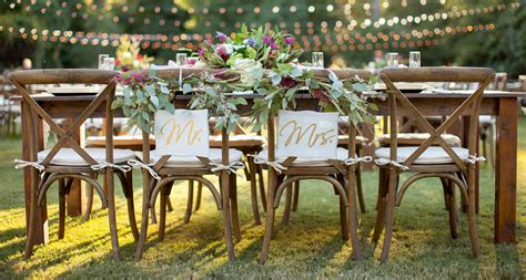 bench rental for wedding farm table rental by oconee events atlanta athens and