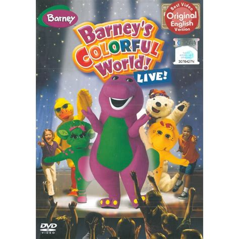 barney colorful world barney barney s colorful world