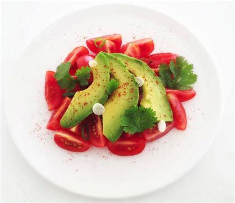 Detox Sla by Gezonde Snelle Lunch Tomaat Avocado Detox Salade