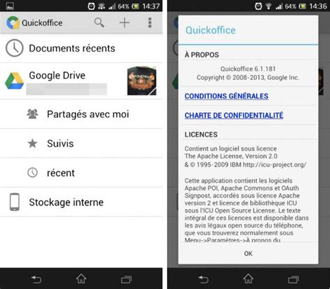 tutorial quickoffice android quickoffice