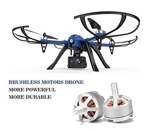 Drone Yang Ada Kamera drocon blue bugs brushless drone dukung kamera gopro