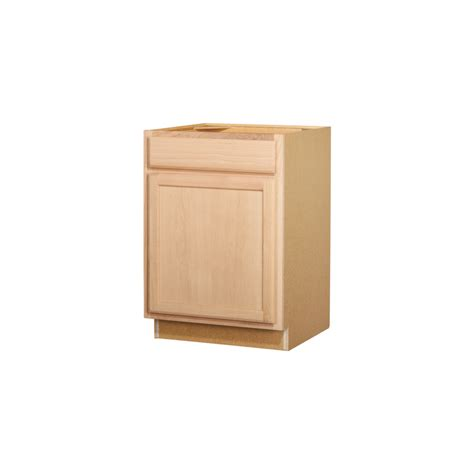 Kitchen Cabinet Unfinished Shop Kitchen Classics 35 In X 24 In X 23 75 In Unfinished Oak Door And Drawer Base Cabinet At