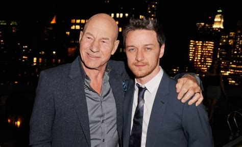 james mcavoy young picard james mcavoy volunteers to play a young jean luc picard in