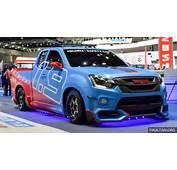 Isuzu D Max Safety Car On Display The Thai Motor Expo