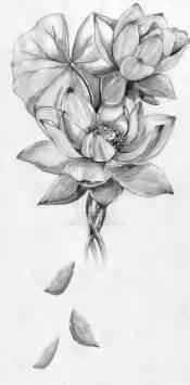Sketch Lotus Flower Lotus Flower By Artfullycreative On Deviantart