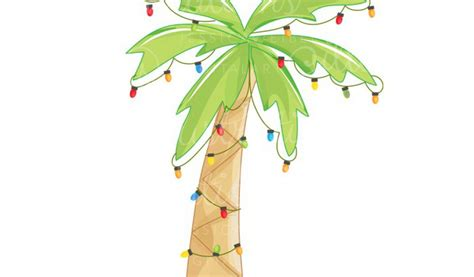 christmas palm tree clip art many interesting cliparts