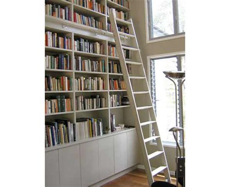 used rolling library ladder office furniture