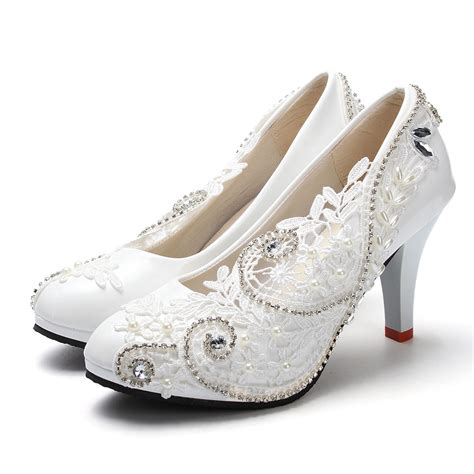 Wedding Shoes High Heels Ivory by Ivory Lace High Heels 28 Images Ivory Lace Amuse High
