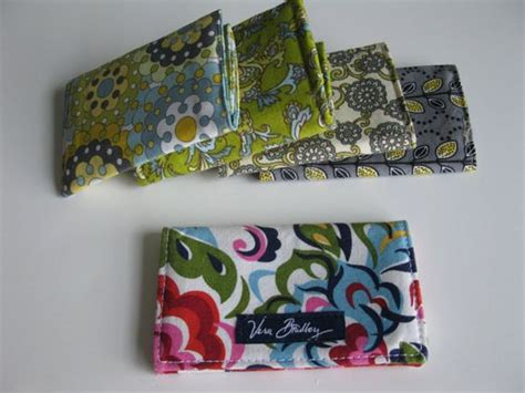 pattern credit card holder easy sewing pattern vera bradley inspired fabric wallet