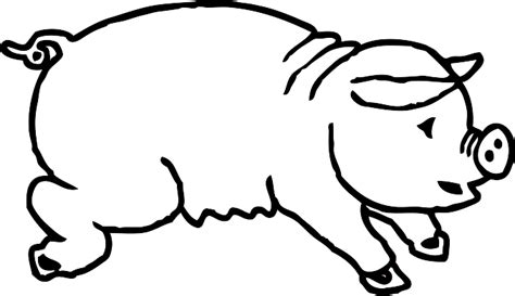 pig clipart black and white pig clip in black and white clipart panda free